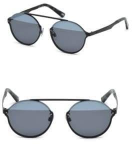 Web 58MM Round Pilot Sunglasses