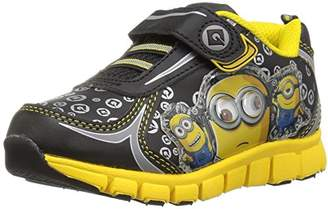 Despicable Me Boys BLK-YLW ATH Shoe Sneaker