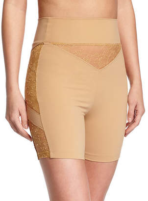 La Perla Shape Allure Lace-Panel Shorts