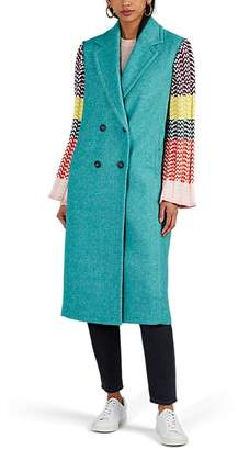 Mira Mikati Women's Appliquéd Wool-Blend Coat