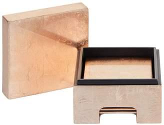 Posh Trading Company Lacquer Coaster Box (Set of 8)
