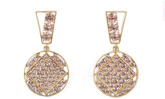 Lulu Frost Bora Crystal Statement Earrings