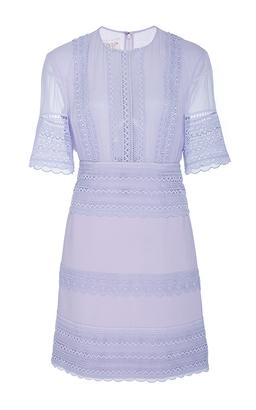 Giambattista Valli Three Quarter Length Sleeve Mini Dress $2,595 thestylecure.com