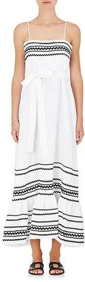 Lisa Marie Fernandez Women's Linen Maxi Dress $995 thestylecure.com