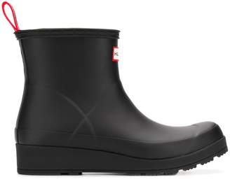Hunter ankle rain boots