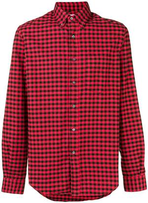 Aspesi gingham checked shirt