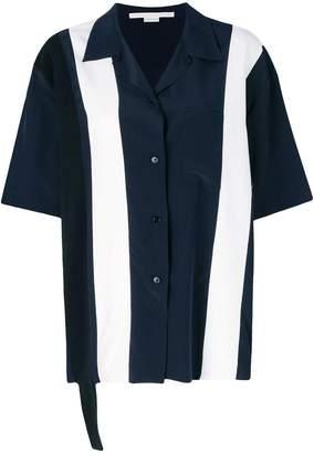 Stella McCartney Ink Reid contrasting shirt