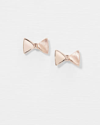 Ted Baker TAYAL Tux bow stud earrings