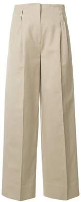 Alberto Biani flared tailored trousers