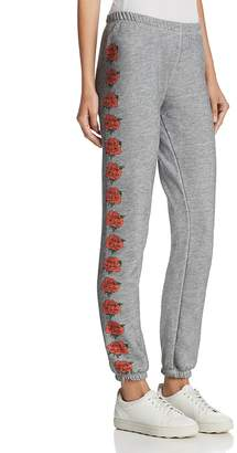 Wildfox Couture Knox Rose Graphic Sweatpants