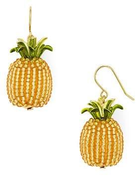 Kate Spade Beaded Pineapple Drop Earrings