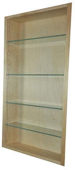 WG Wood Products Aurora 13.5 W x 41.5 H Recessed Cabinet