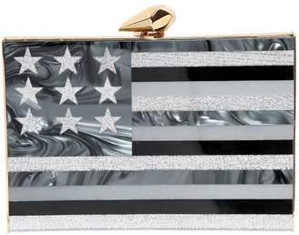 Kotur Merrick American Flag Perspex Clutch