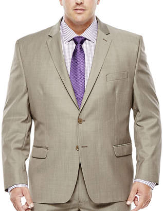 COLLECTION Collection by Michael Strahan Taupe Suit Jacket - Big & Tall