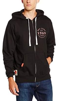 Hot Tuna Men's Trademark Short Sleeve Zip Hoodie