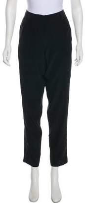 Vionnet Mid-Rise Straight-Leg Pants