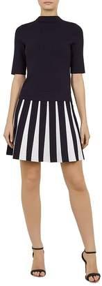Ted Baker Hethia Knit Layered-Look Dress