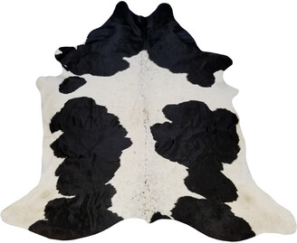 Chesterfield Leather Holstein Brazilian Cowhide Large Rug