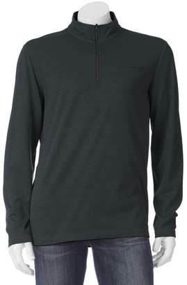 Free Country Men's Birdseye Heathered Quarter-Zip Pullover