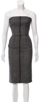 Dolce & Gabbana Strapless Knit Dress