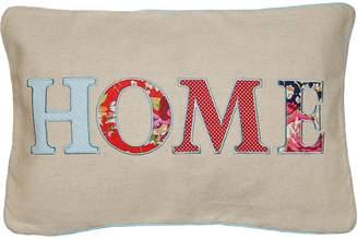 "Spencer Home Decor ""Home"" Patch Oblong Throw Pillow"