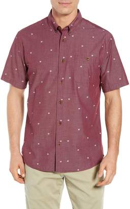 Quiksilver Waterman Collection Regular Fit Geo Sport Shirt