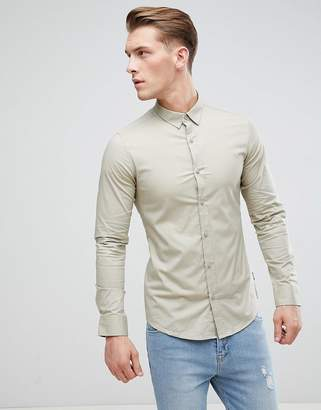 ONLY & SONS Slim Fit Poplin Shirt