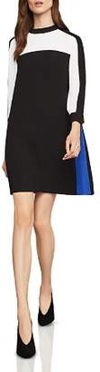 BCBGMAXAZRIA Stephanie Color-Block Shift Dress