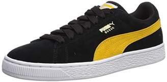 Puma Men's Suede Classic Sneaker Olivine Black