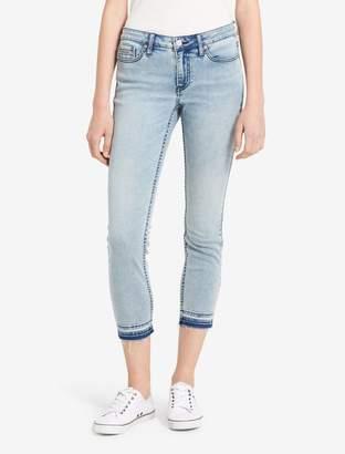 Calvin Klein ultimate skinny light blue ankle jeans