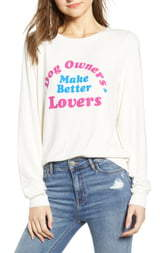 Wildfox Couture Baggy Beach Jumper - Better Lovers Pullover