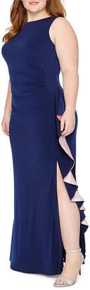 BLU SAGE Blu Sage Sleeveless Party Dress - Plus