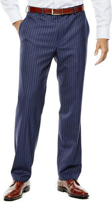 COLLECTION Collection by Michael Strahan Striped Navy Suit Pants - Classic Fit