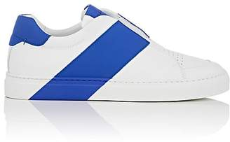 Harry's of London MEN'S BOLT LEATHER SLIP-ON SNEAKERS