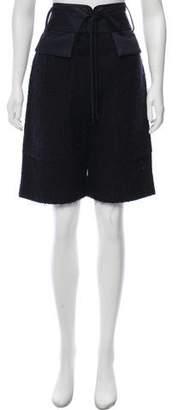 Reed Krakoff High-Rise Tweed Shorts