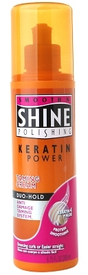 Smooth 'N Shine Polishing Keratin Power Taming Cream