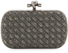 Bottega Veneta Crystal Knot Framed Clutch Bag, Bronze
