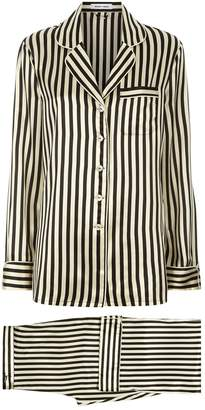 Nika Olivia Von Halle Lila Silk Pyjamas