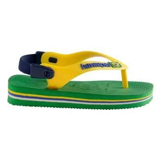 Havaianas Sale - Brasil Logo Baby Flip Flops