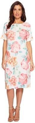 Nally & Millie Big Floral Print Dress Women's Dress