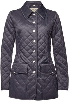Burberry Quilted Jacket with Cotton