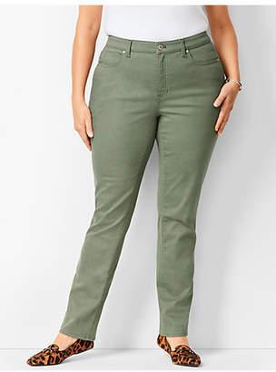 Talbots High-Waist Straight-Leg Jeans