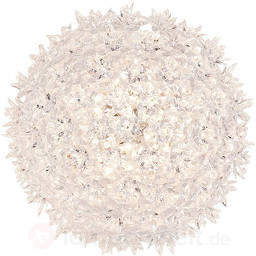 Transparente LED-Deckenleuchte Bloom, 28 cm