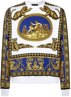 Versace Greek Print Sweatshirt