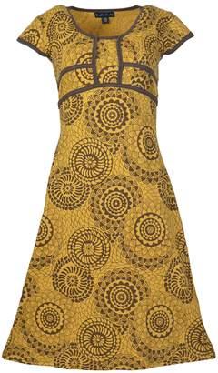 TATTOPANI Woman Half Sleeve Summer Dress Back TIE Design - Ladies GODAVARI (-1057-L) US