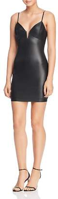 Sunset & Spring Faux Leather Body-Con Dress - 100% Exclusive