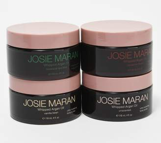 Josie Maran Set of 4 Whipped Body Butter Collection