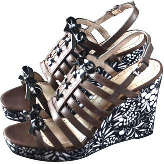 Marc by Marc Jacobs Brown Leather Sandals
