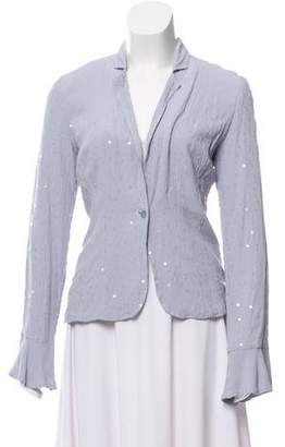 Ghost Embellished Long Sleeve Jacket w/ Tags