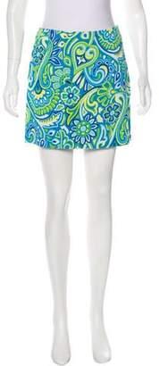 Versus Printed Mini Skirt